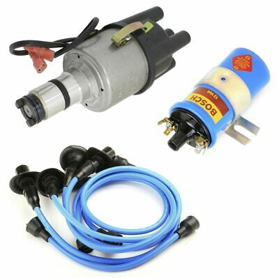 $169.95 • Buy Vw Bug Ignition Kit W/Empi 9441 Electronic 009 Dist, Bosch Coil, Blue Wires