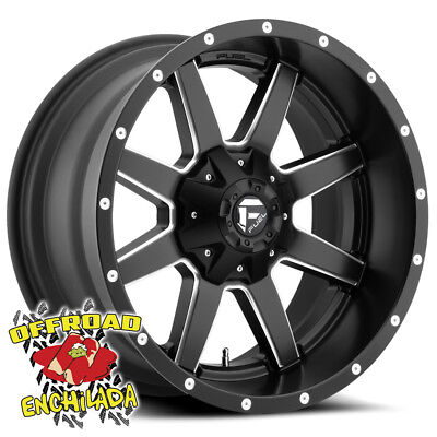 $1228 • Buy 20x10  BLACK FUEL MAVERICK WHEELS RIMS FORD F-250 F350 SUPER DUTY LARIAT FX4 XLT