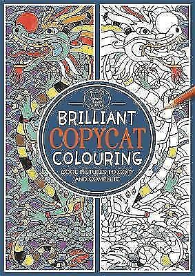 £5.63 • Buy Brilliant Copycat Colouring: Cool Pictures To Copy And Complete (Colouring Books
