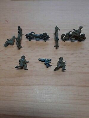 Skybirds 1/72 Motorcyclists,motorcycles And Vickers Machine Gun • 10£