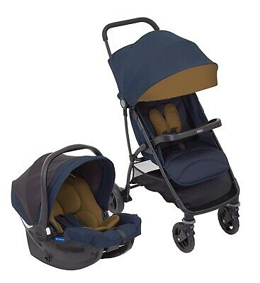 Graco Breaze Travel System Pushchair Car Seat With Raincover BRAND NEW BOXED • 150£