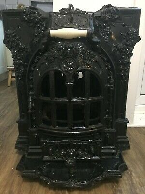 Victorian Style Cast Iron Arched Fireplace Insert • 300£