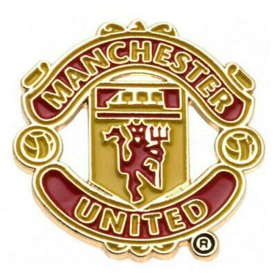 Official MANCHESTER UNITED FC Metal Pin BADGE Club Crest Man Utd Gift • 4.99£