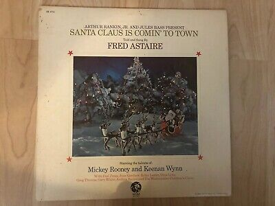 $83.70 • Buy Santa Claus Is Comin' To Town 1970 Rankin Bass MGM SE 4732 Promo Vinyl NM-