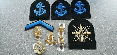 WRNS Qualification Badges Patches & Army Cap Badges • 7.95£