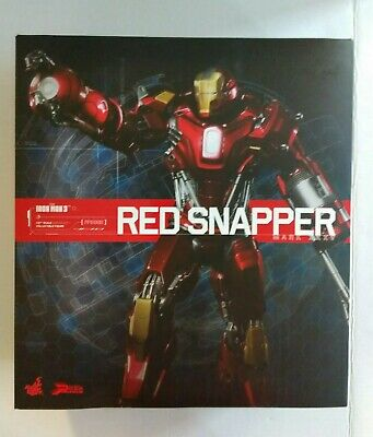 $ CDN260 • Buy Hot Toys Iron Man 3 Red Snapper 1/6 Scale Action Figure