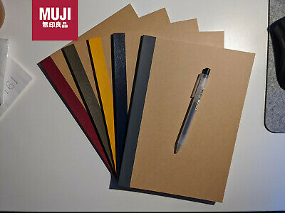 AU9.95 • Buy 1 Muji Notebook B5 Black Pen 0.5mm Japan Click