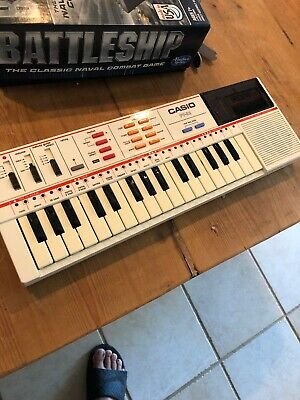 $39 • Buy Vintage Casio PT-82 Mini Electronic Keyboard Synthesizer W/ROM Pack RO-356 WORKS