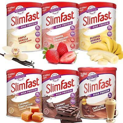 £12.99 • Buy Slim Fast Shake Powder Weight Loss Original Meal Replacement Fitness Diet Drink