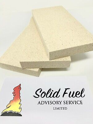 £14.95 • Buy CUT TO SIZE-VERMICULITE FIRE BRICK(s) Multi Fuel WoodburnerStove- NON REFUNDABLE