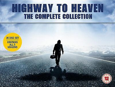 Highway To Heaven Complete Dvd Box Set Seasons 1-5 Series New And Sealed • 74.95£