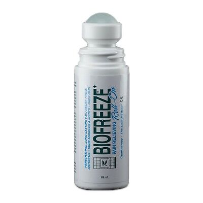 £63.59 • Buy Biofreeze Pain Relief Gel Cold Therapy Roll On - 6 X 89ml