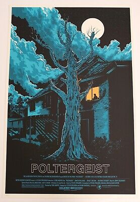 Poltergeist Mondo Poster By Ken Taylor Very Rare Limited Edition Screen Print • 800£