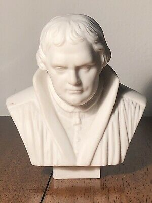 $ CDN450 • Buy MARTIN LUTHER PARIAN BUST Porcelain Dresden Ware Meissen Statue Germany Marked