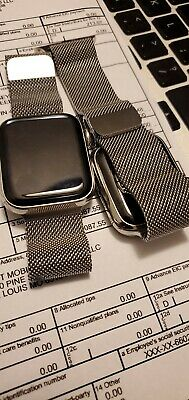 $ CDN707.15 • Buy Apple Watch Series 5 40mm Silver Milanese Loop/Stainless Steel MINT CONDITION!