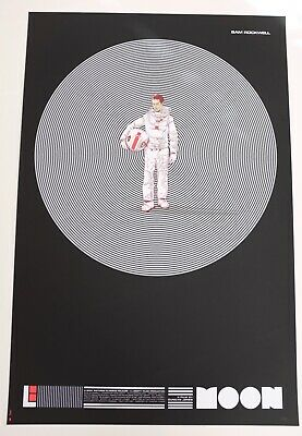 £400 • Buy Moon Mondo Poster By Martin Ansin Rare Variant Limited Edition Screen Print