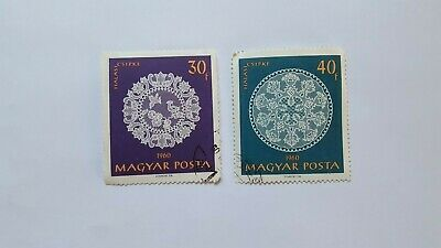 Hungarian Halas Lace Stamps. 1960. Nice Stamps. • 0.99£