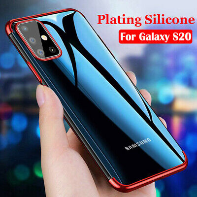 $ CDN2.54 • Buy For Samsung Galaxy S20 S10 Plus/S20 Ultra Silicone Case Shockproof Rubber Cover