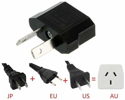 AU3.29 • Buy Latest USA US EU ADAPTER PLUG TO AU AUS AUSTRALIA TRAVEL POWER PLUG CONVERTOR AU