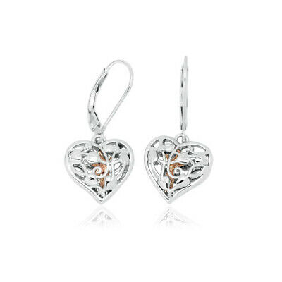 Official Welsh Clogau Silver & Rose Gold Fairy Earrings £70 OFF • 59£