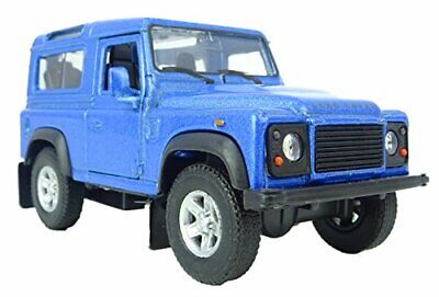 4 Inch Die Cast Model Land Rover Defender Toy Car In Blue (HL437-BLUE) • 5.99£
