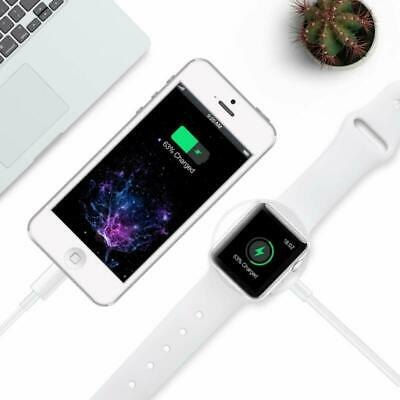 $ CDN9.70 • Buy 2 In 1 Wireless Charger Cable Compatible With Apple Watch Series 5/4/3/2/1