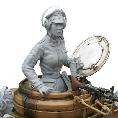 SOL RESIN FACTORY, Pzkpfw IV Ger. Female Tank Comm(1 FIGURE), Cat.no.MM272, 1:16 • 39.89£