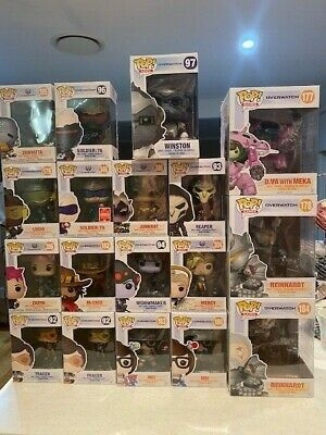 AU20 • Buy Funko Pop Vinyl Games OVERWATCH Bulk Buy Assorted Big Pops - Choose Your Own