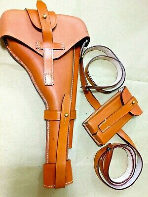Luger P-08 8  Artillery Holster W. Stock Straps • 61.37£