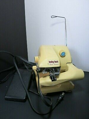 Yellow BABY LOCK BL-101 Blind Stich Hemmer For Parts/repair • 46.31£