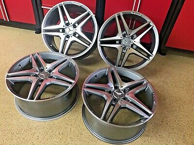 $895 • Buy Mercedes 19 Inch S63 Rims Wheels Set4 Fits 19/8.5 19/9.5  2007 -2012 S550 Amg