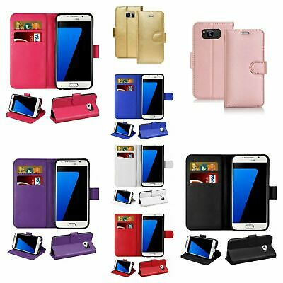 $ CDN7.04 • Buy For Samsung Galaxy S20 S10 S9 S20 Plus A10 Flip Slim Leather Wallet Case Stand