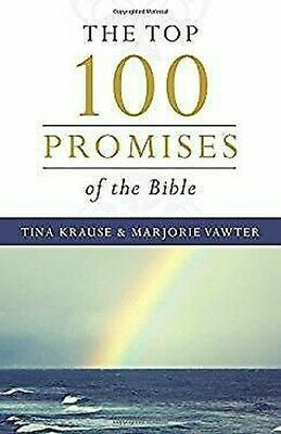 $ CDN5.26 • Buy Top 100 Promises Of The Bible By Vawter, Marjorie, Krause, Tina