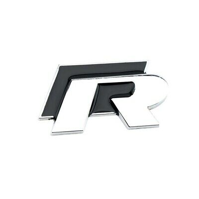 Black R Line Badge Volkswagen VW GOLF GTI Beetle Polo CC Touareg Tiguan Passat • 9.99£