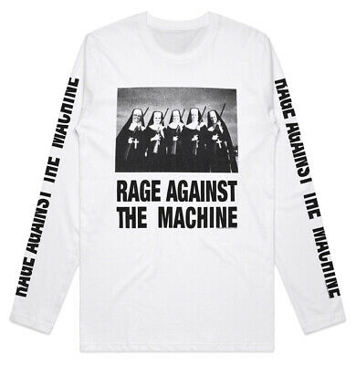 Rage Against The Machine 'Nuns And Guns' Long Sleeve Shirt - NEW & OFFICIAL • 25.69£