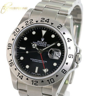 $ CDN9414.55 • Buy Rolex Explorer II 16570 40mm Steel Mens Oyster Bracelet Watch  W/ Papers
