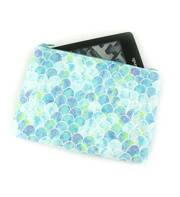 AU26 • Buy Mint Mermaid Scales Kindle Padded E-Reader Case, Paperwhite Sleeve, Amazon Oasis