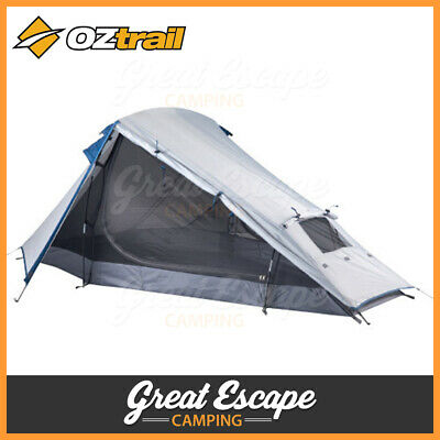 AU84.90 • Buy OZtrail Nomad 2 Dome Tent Compact Hiking Lightweight Tent