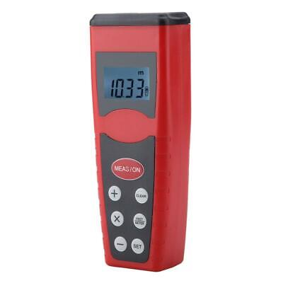 £14.18 • Buy Electronic Ultrasonic Measure Distance Meter With Laser Pointer LCD Tester