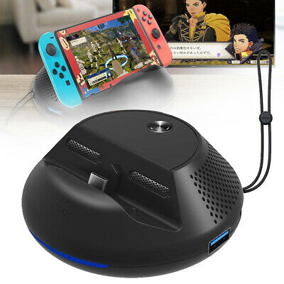 $21.89 • Buy TV Switch HDMI Converter Charging Station Dock Base Stand For Nintendo Switch US