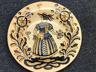 Hand Painted Spanish Pottery Charger Talavera  • 75£