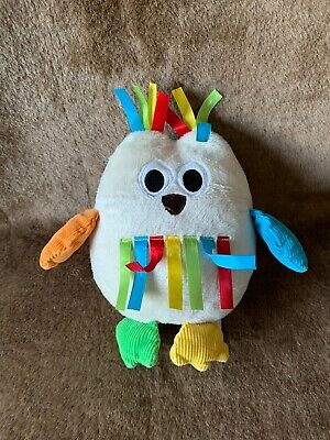 £5 • Buy Mothercare Taggies Owl Chick Comforter Soft Toy Chime Toy