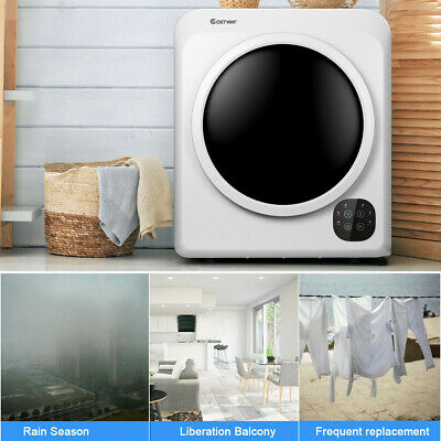 View Details 1700W Electric Tumble Clothes Laundry Dryer Steel Tub 13.2 Lbs/3.22 Cu.Ft US • 427.99$