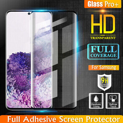 AU5.49 • Buy For Samsung Galaxy S21+ S20 Ultra Plus S20 FE 5G Tempered Glass Screen Protector