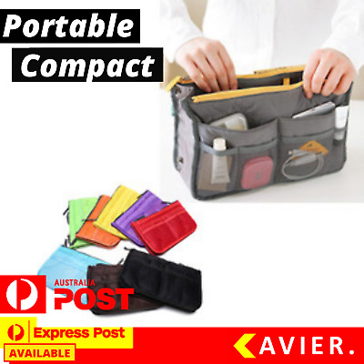 AU7.95 • Buy Travel Makeup Handbag Women Bag Cosmetic Organiser Purse Lipsticks Pouch Wallet