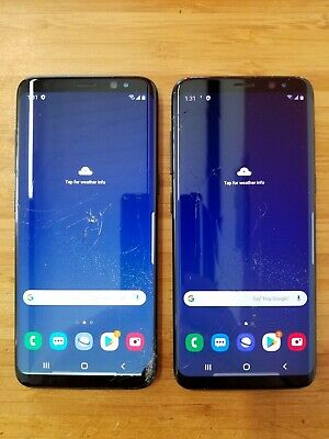 $ CDN225 • Buy Lot De 2 - Samsung Galaxy S8 -  SM-G950W - 64GB - Black - Unlocked(item#955)