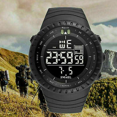 $ CDN10.88 • Buy Calendar Sport Waterproof Military Army Men's Quartz Digital Sport Wrist Watch