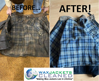 Cleaning / Re-waxing / Alteration Services For Wax Jackets Any Make Any Model • 1£