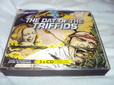 The Day Of The Triffids-John Wyndham (2006,Audio CD) 3xCD • 7.99£