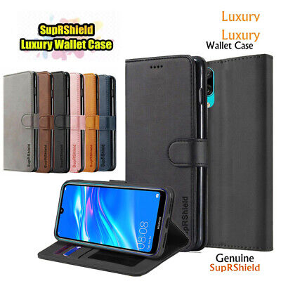 AU7.95 • Buy For Huawei Y7 Pro SupRShield Wallet Leather Flip Case Card Magnet Cover Cover